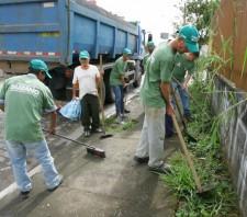 Cidade Viva remove 200 toneladas de lixo em bairros de Suzano
