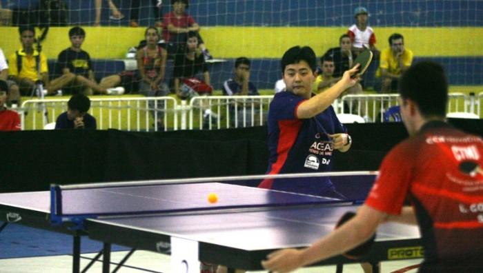 7e800afa1 Tênis de Mesa  Suzano fica em 3º lugar no masculino