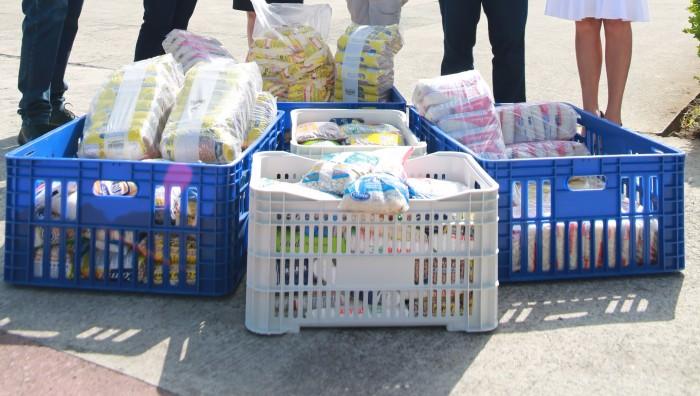 Fundo Social recebe doação de 450 quilos de alimentos