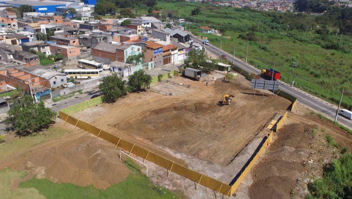 Obra do Centro de Iniciação ao Esporte começa no Jardim Santa Inês