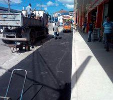 Parceria garante melhorias para motoristas e pedestres na estrada do Koyama