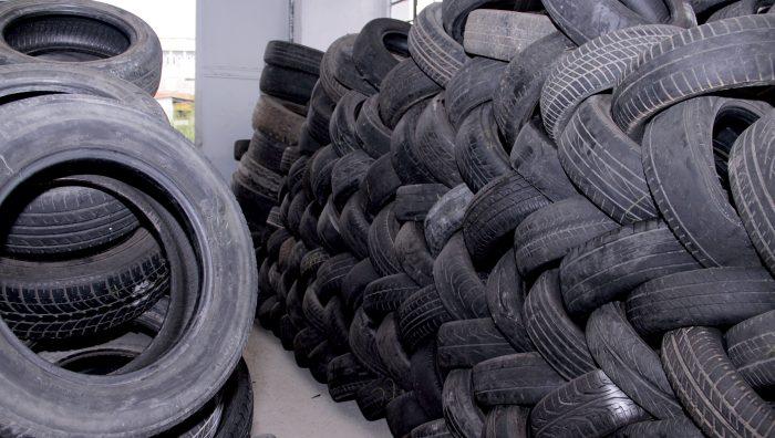 Ecoponto do Boa Vista é referência em Suzano para descarte de pneus