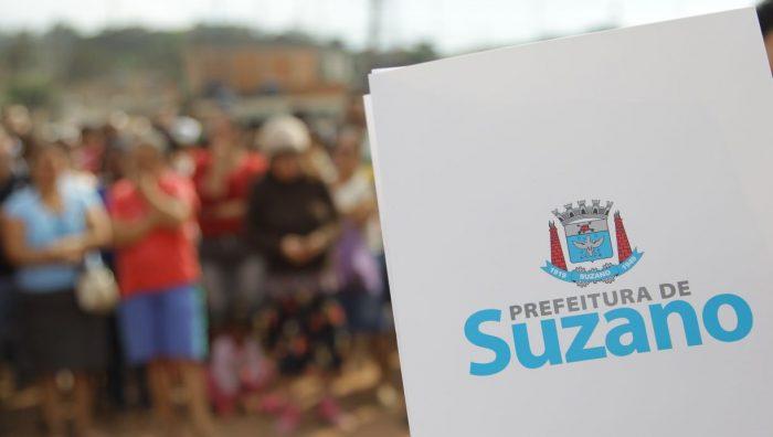 Suzano inicia entrega de memoriais descritivos para regularização de área invadida