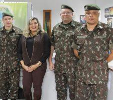 Exército Brasileiro realiza inspeção anual na Junta Militar de Suzano