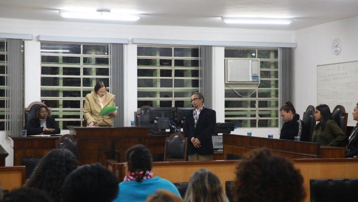 Curso Promotoras Legais retoma atividades com júri simulado de feminicídio