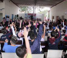 Escolas recebem atividades sobre prevenção de acidentes e incêndios