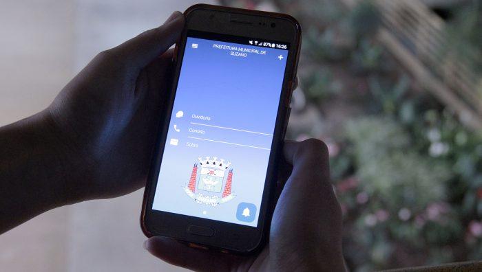 Aplicativo é novo canal de comunicação da Prefeitura de Suzano com a população