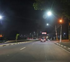 Mais de 1,6 mil pontos de iluminação pública recebem lâmpadas de LED