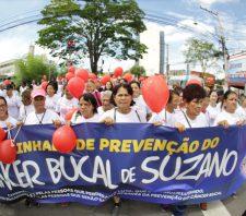 Suzano terá Caminhada de Prevenção do Câncer Bucal neste sábado