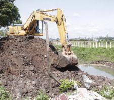 Miguel Badra terá reservatório provisório para combate a enchentes