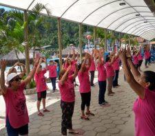 Saúde oferece dia de lazer a voluntários