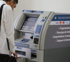 Terminal para pagamento de tributos e impostos é instalado no Centrus