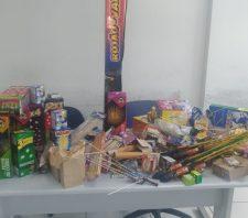 Prefeitura de Suzano fiscaliza venda de fogos de artifício