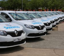 Secretaria de Saúde de Suzano recebe nove veículos novos
