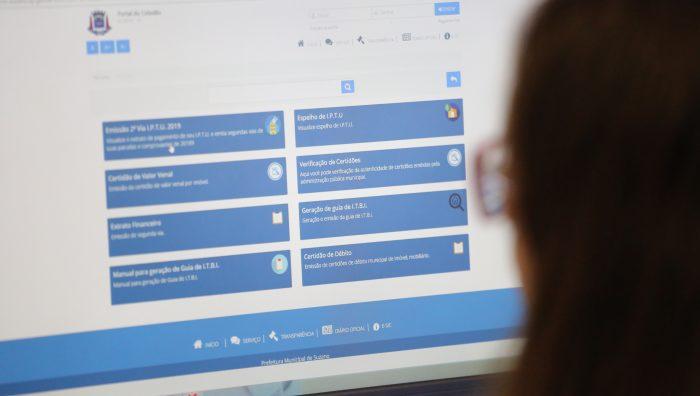 Contribuinte já pode ter acesso ao IPTU pela Internet