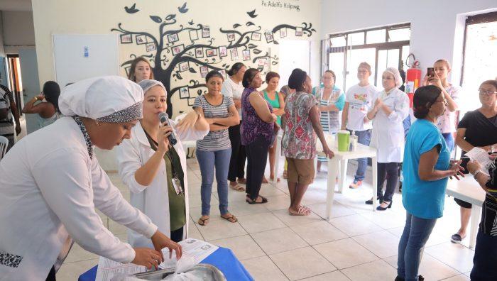 Novo projeto estimula aproveitamento de alimentos em entidades de Suzano