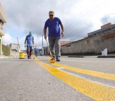 Suzano conta com nova sinalização de trânsito em 70% das vias públicas