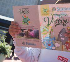 Suzano promove atividades de educação ambiental e de trânsito para alunos do Sesi