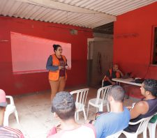 Defesa Civil capacita moradores do Jardim Maitê e de Palmeiras para emergências