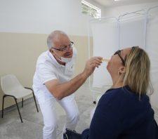 Saúde realiza Campanha de Prevenção ao Câncer Bucal