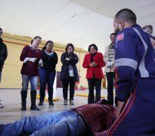 Integrantes da Cipa iniciam curso avançado de atendimento pré-hospitalar