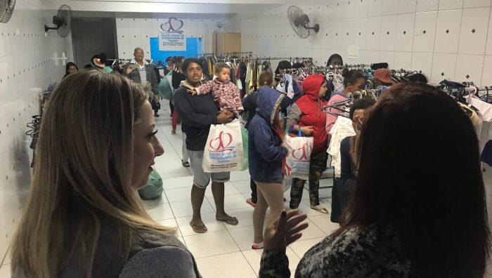 ce785318117c Arrecadação da Campanha do Agasalho já totaliza 200 mil peças de roupas