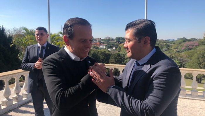 Prefeito de Suzano se encontra com governador João Doria