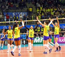 Brasil encerra passagem por Suzano com nova vitória sobre a Argentina
