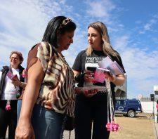 Combate à violência sexual no transporte é tema de ato em Suzano