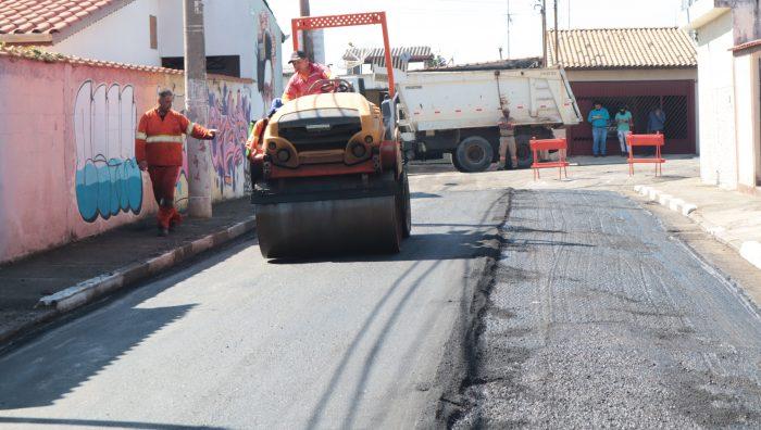 Vila Figueira e Santa Inês receberão manutenção e recuperação asfáltica
