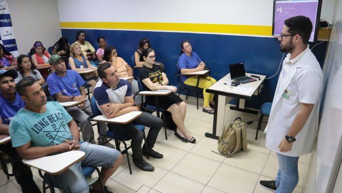 Integrantes da Frente de Trabalho passam por cursos de capacitação