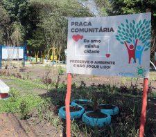Jardim Monte Cristo ganha praça comunitária
