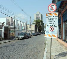 Ruas Ipiranga e Paraná terão mudanças no sentido de direção