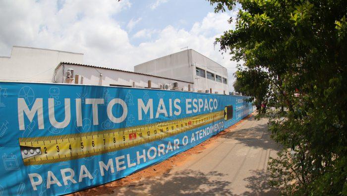 Prefeito oficializa início das obras de reforma e ampliação do PS Adulto