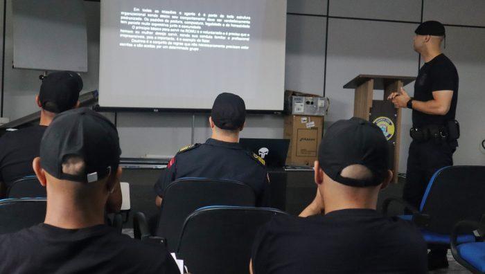 GCM dá início à formação de agentes em patrulhamento tático