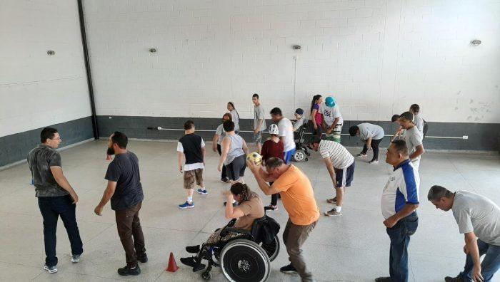 Projeto 'Oficina Corporal' promove atividades para pessoas com deficiência