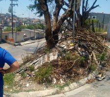 Ação especial resulta na retirada de 600 toneladas de lixo e entulho