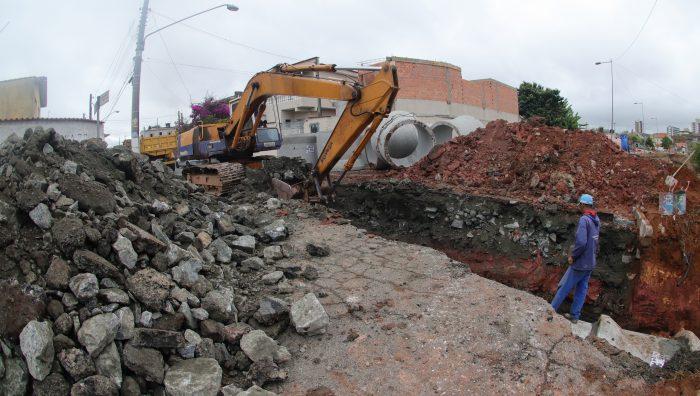 Marginal do Una recebe serviços para captação de águas pluviais