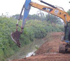 Desassoreamento do Taiaçupeba-Mirim é pauta de encontro entre Suzano e Ribeirão Pires