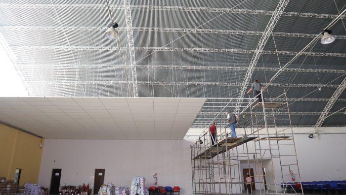 Salão do Complexo Educacional Mirambava passa por revitalização