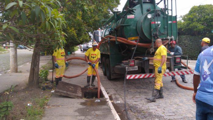 Equipes de zeladoria intensificam trabalhos em Suzano