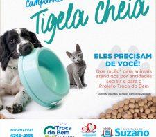 Fundo Social inicia segunda edição da campanha 'Tigela Cheia'