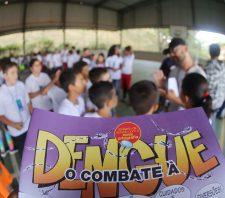 Gincana orienta crianças sobre importância do combate ao Aedes aegypti