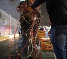 Fiscais combatem ligações clandestinas de energia elétrica
