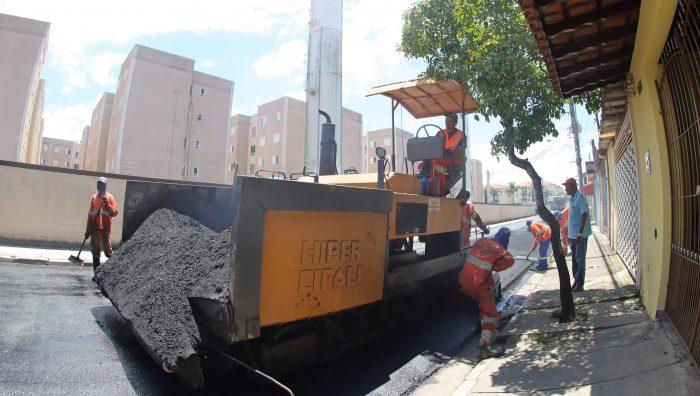 Revitalização na rua Caboclos entra em fase final