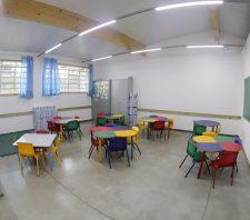 Educação vai entregar 25 novas salas de aula em março