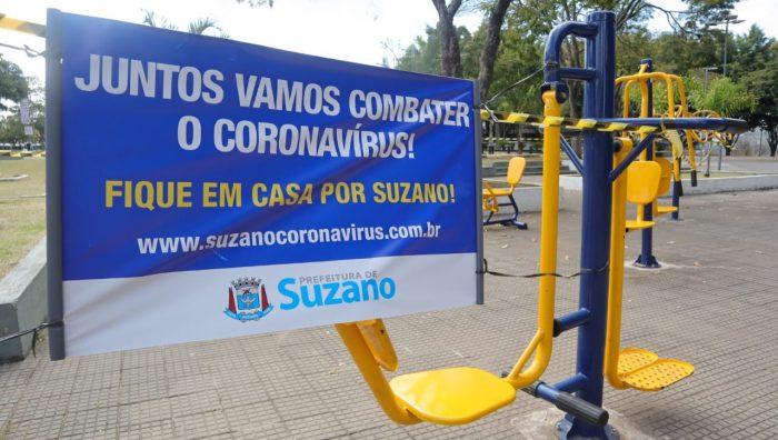 Academias ao ar livre são interditadas em Suzano