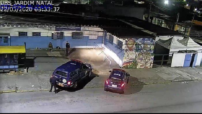 GCM detém indivíduo por furto no posto de saúde do Jardim Natal