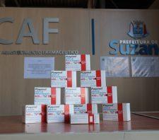 Suzano recebe 15 mil comprimidos de Plaquinol® doados pela Sanofi