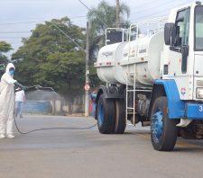 Santa Casa, PS e vias públicas recebem limpeza especial contra novo coronavírus